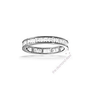 Photo of GRACE PLATINUM DIAMOND FULL ETERNITY RING 1.50CT H/SI Jewellery Woman