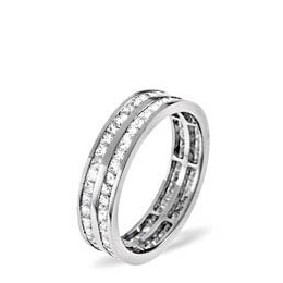 HOLLY 18KW DIAMOND FULL ETERNITY RING 2.00CT G/VS Reviews
