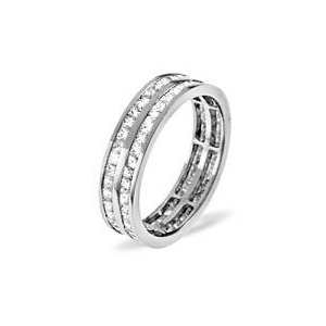 Photo of HOLLY 18KW DIAMOND FULL ETERNITY RING 2.00CT g/VS Jewellery Woman