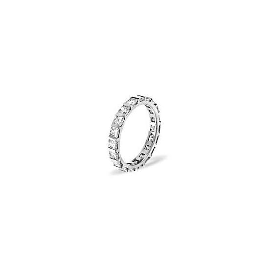 OLIVIA PLATINUM DIAMOND FULL ETERNITY RING 2.00CT G/VS