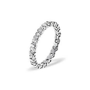 Photo of Hannah Platinum Diamond Full Eternity Ring 2.0CT Jewellery Woman