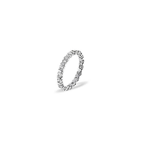 Hannah Platinum Diamond Full Eternity Ring 2.0ct