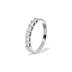 Photo of OLIVIA PLATINUM DIAMOND HALF ETERNITY RING 0.50CT g/VS Jewellery Woman