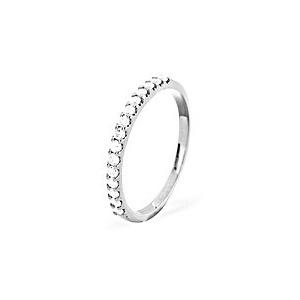 Photo of 15 Stone Chloe Platinum Diamond Half Eternity Ring 0.50CT g/VS Jewellery Woman