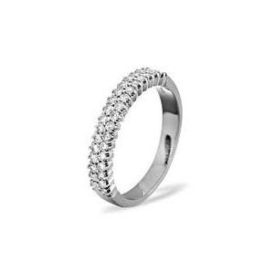 Photo of SOPHIE 18KW DIAMOND HALF ETERNITY RING 1.00CT g/VS Jewellery Woman