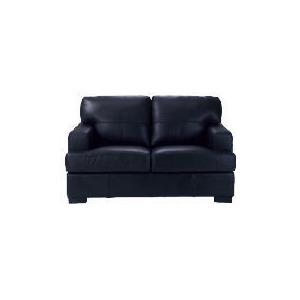 Photo of Denver Leather Sofa, Black Furniture