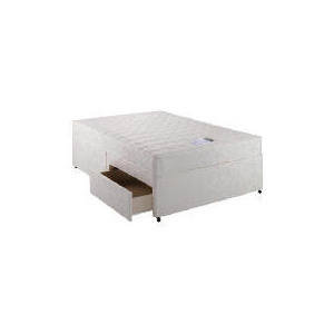Photo of Simmons MQ 800 Memory Foam 2 Drawer Divan Set - Double Bedding