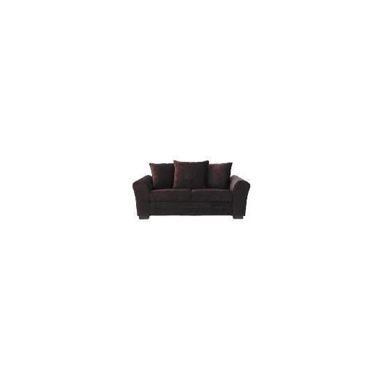 Genoa Large Sofa, Chocolate