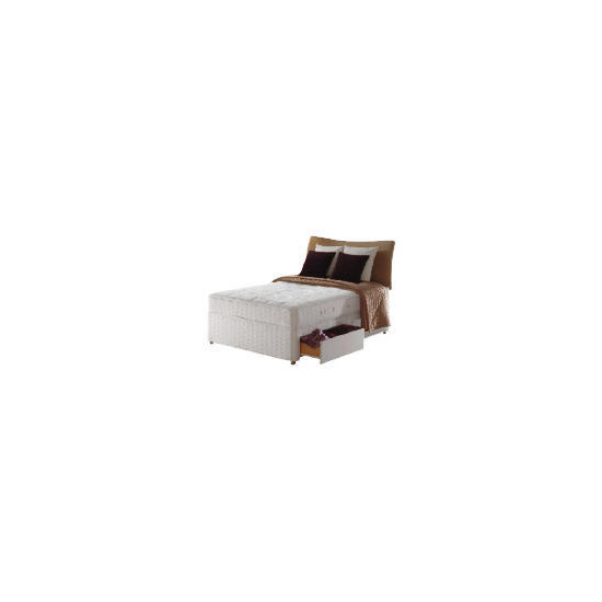 Sealy Hawk Posturepedic Comfort Deluxe Non Storage Divan Set - King