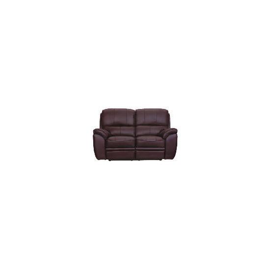 Minnesota Leather Recliner Sofa, Espresso