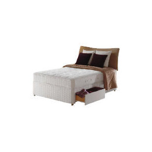 Photo of Sealy Hawk Posturepedic Comfort Deluxe 4 Drawer Divan Set - King Bedding