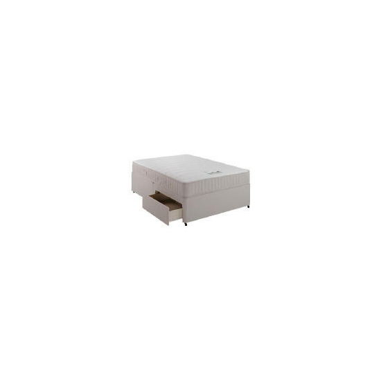 Simmons Mq 800 Memory Foam 4 Drawer Divan Set - Double