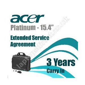 "Photo of Platinum Bundle 15"" - Extended Service Agreement - 3 Years Laptop Accessory"