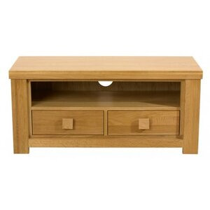 Photo of Mark Harris Barcelona Natural Oak 2 Drawer TV Stands and Mount