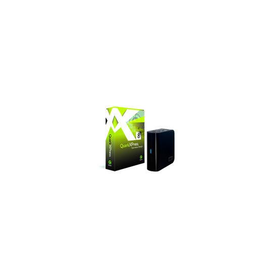 QuarkXPress 8 Full Version Mac/Win+FREE My Book Essential Edition 1TB Hard Disk
