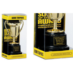 Photo of Slacker Of The Year Award Trophy Gadget
