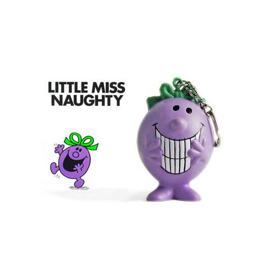 Mr Men Stressball Keychain - Little Miss Naughty