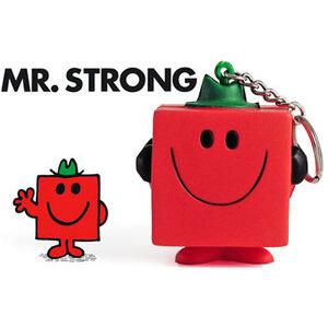 Photo of MR Men Stressball Keychain - MR Strong Gadget