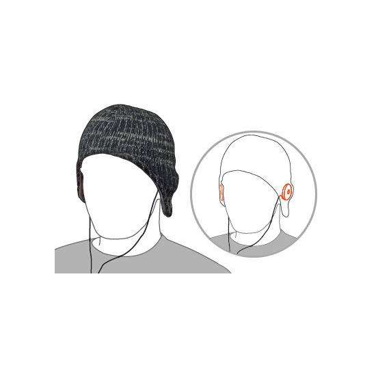 Speaker Beanie Hat