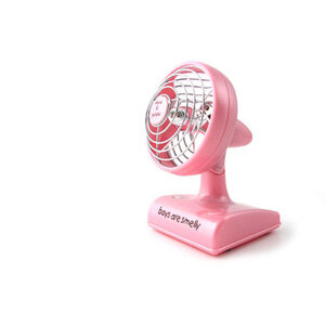 Photo of David and Goliath Pink Desk Fan Gadget