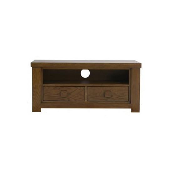Mark Harris Barcelona Dark Oak 2 Drawers
