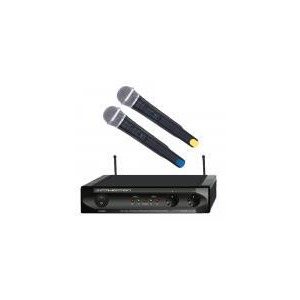 Photo of ITRANS-V2 Dual VHF Wireless Microphone System Microphone
