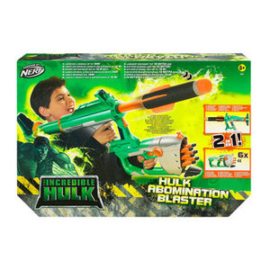 Photo of Incredible Hulk Abomination Buster Blaster Toy