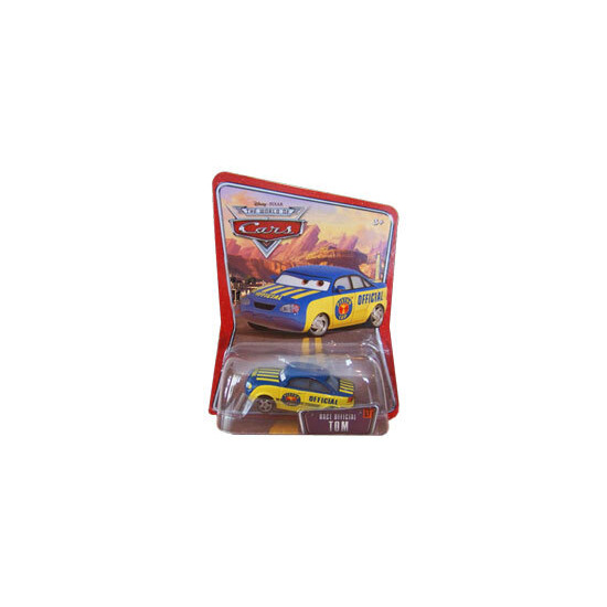 Disney Pixar Cars - Diecast - Race Official Tom