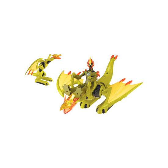 Ben 10 Alien Force - Alien Creature Vehicle Swampfire