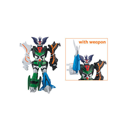 Power Rangers Jungle Fury - Transforming Beast Master Megazord