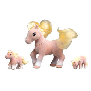 Photo of Pony In My Pocket - Mum & Babies Pinto Family Toy