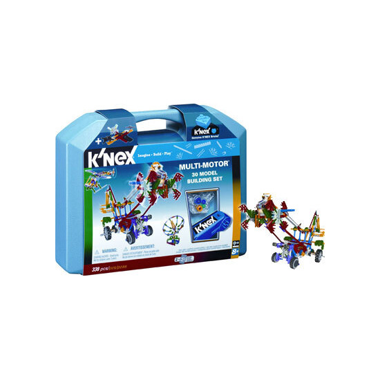 Knex Multi-Motor 30 Model Building Set