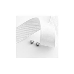 Photo of 9CT White Gold Diamond Earrings Jewellery Woman