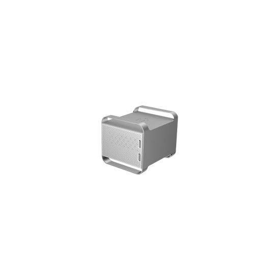 Iomega UltraMax Pro Desktop Hard Drive - Hard drive array - 2 TB - 2 bays ( SATA-300 ) - 2 x HD 1 TB - Hi-Speed USB, Serial ATA-300 (external)