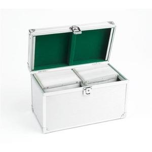 Photo of S & A Aluminium CD Box Media Storage Case Household Storage