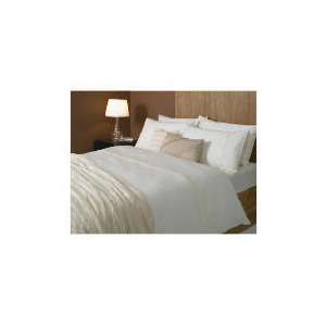 Photo of Hotel 5* Faux Fur Throw, Cream Bed Linen