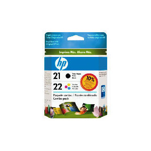 Photo of HP 21 and 22 Multipack Ink Ink Cartridge