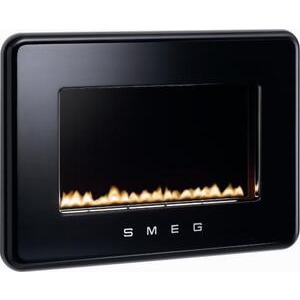 Photo of Smeg 50s Style Flueless Fire In Black Electric Heating