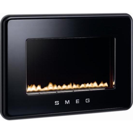 Smeg 50s Style Flueless Fire in Black