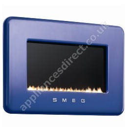 Smeg 50s Style Flueless Natural Gas Fire in Dark Blue Reviews