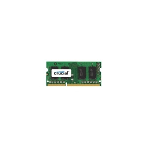 Photo of Crucial - Memory - 4 GB - SO DIMM 204-Pin - DDR3 - 1066 MHZ / PC3-8500 - CL7 - 1.5 V - Unbuffered - Non-ECC Computer Component