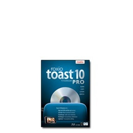 Roxio Toast Titanium Pro - ( v. 10 ) - complete package - 1 user - DVD - Mac - Multilingual Reviews