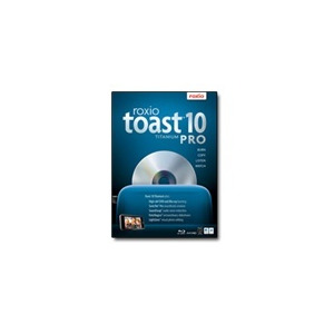 Photo of Roxio Toast Titanium Pro - ( V. 10 ) - Complete Package - 1 User - DVD - Mac - Multilingual Software