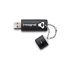 Photo of Integral USB Flash Drive - Integral 32GB Black SPLASH Hi-Speed USB 2.0 USB Memory Storage