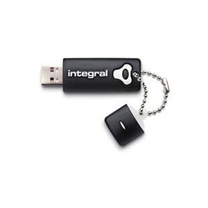 Photo of Integral USB Flash Drive - Integral 32GB Black SPLASH Hi-Speed USB 2.0 USB Memory Storage