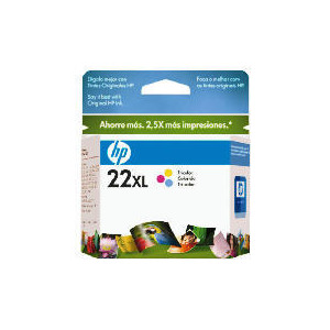 Photo of HP 22XL Colour Ink Ink Cartridge
