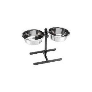 Photo of Twin Bowl Stand 28CM Home Miscellaneou