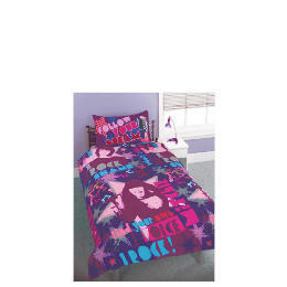 Camp Rock 'Together' single duvet set Reviews
