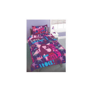 Photo of Camp Rock 'Together' Single Duvet Set Bed Linen
