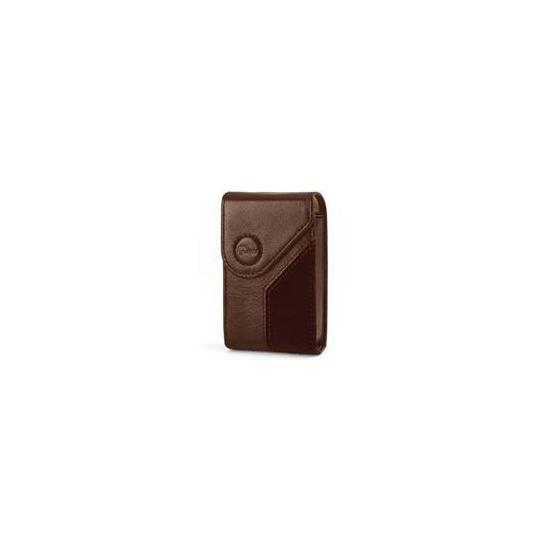 Napoli Leather Camera Case - Brown